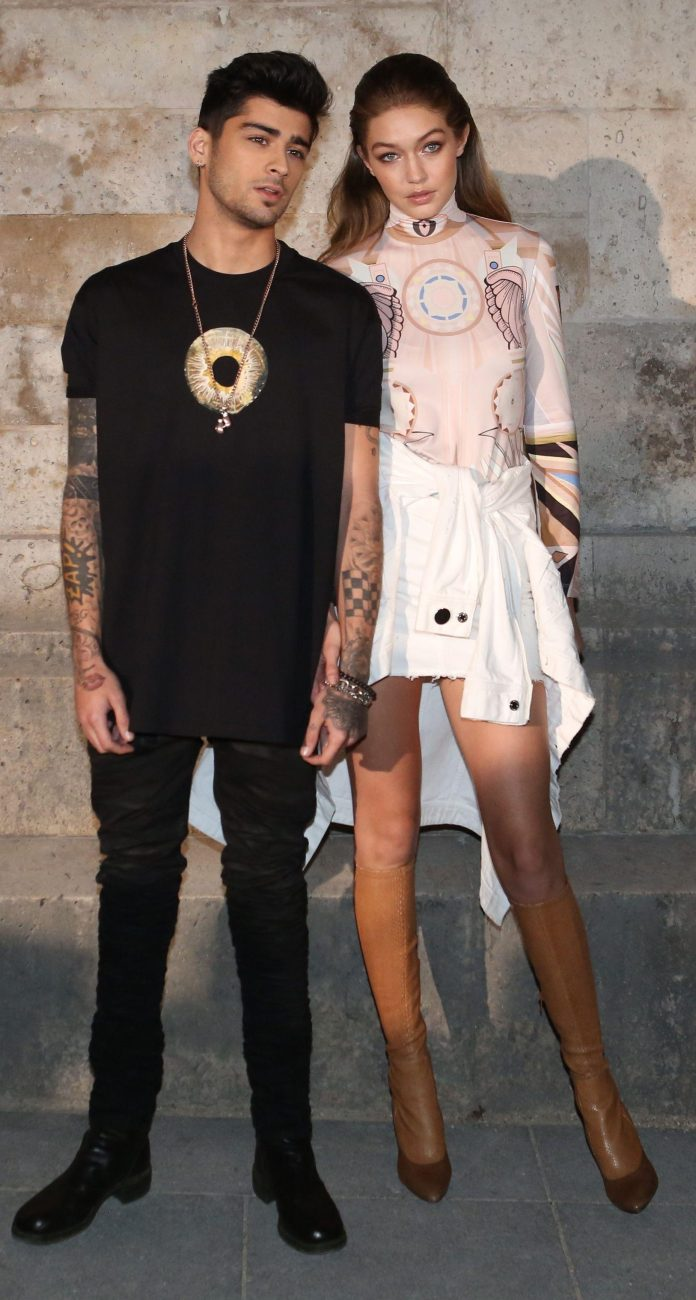 The couple during a fashion event in Paris in 2016