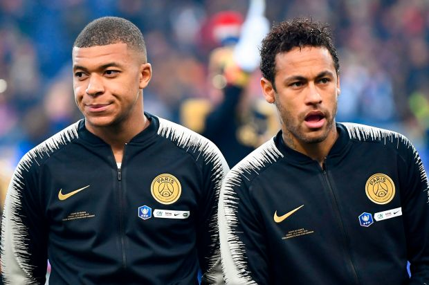 Kylian Mbappe and Neymar's PSG are runaway leaders atop Ligue 1