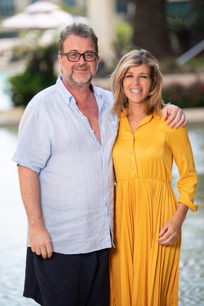 Kate Garraway's husband Derek Draper still in