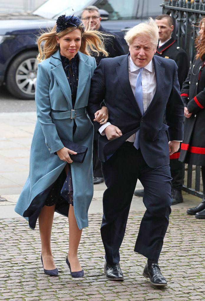 Boris Johnson was good enough to call pregnant fiancee Carrie Symonds