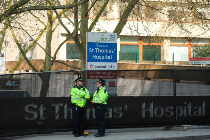 Staff were told Boris was on their way, but they saw him cheering on television for the NHS