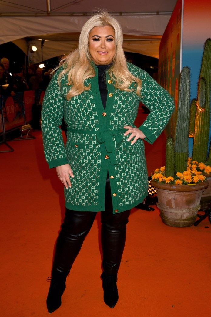 Gemma Collins Criticized For Bonfire During Coronavirus Crisis