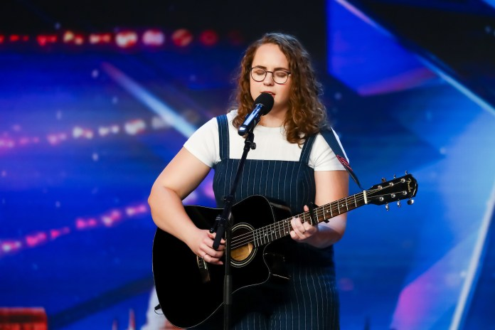 Beth auditioned for the hit ITV show in January before the lockdown