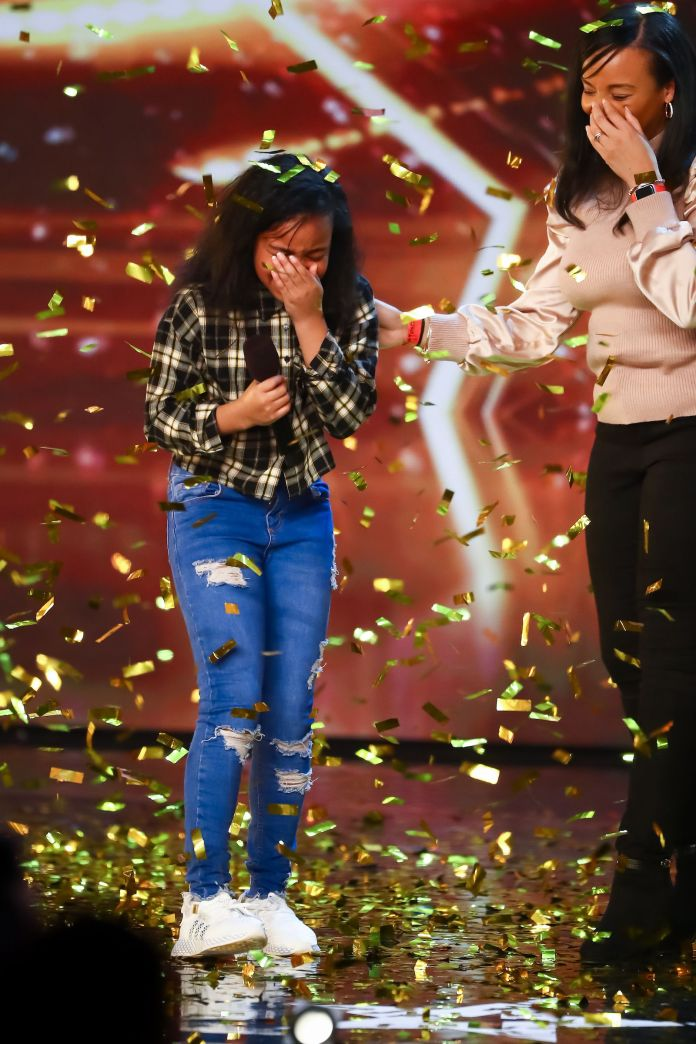 She was amazed to get Simon's Golden Buzzer