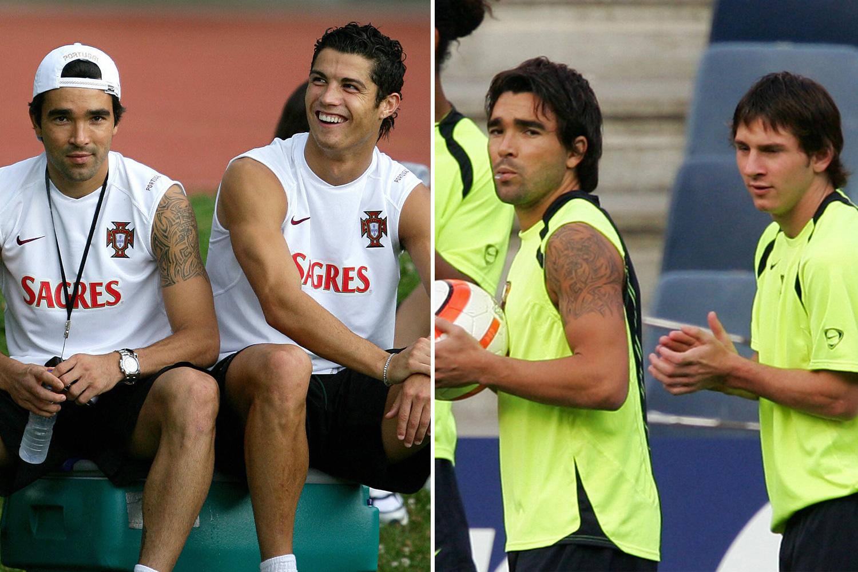 Deco couldn't split Ronaldo and Messi