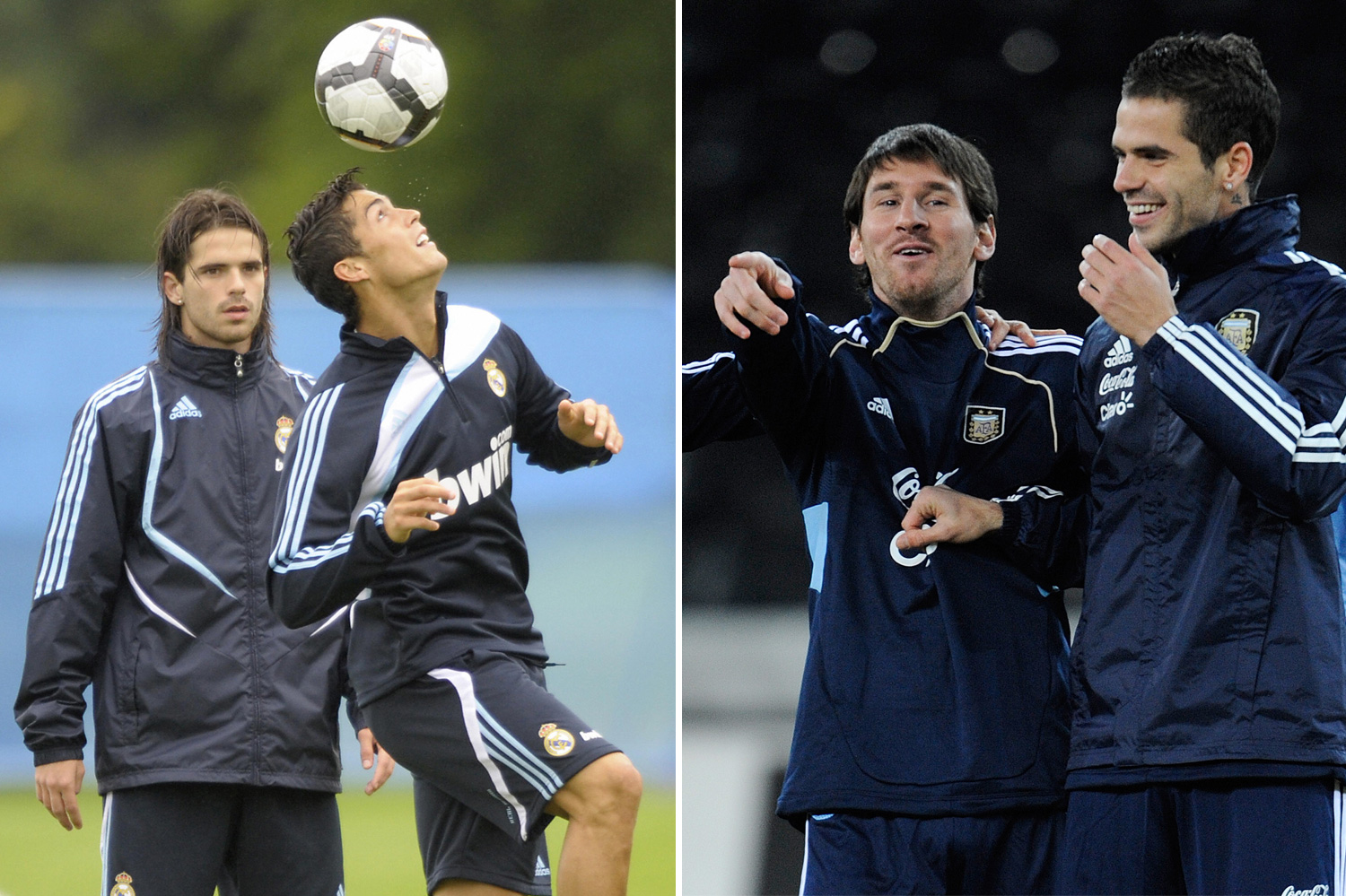 Fernando Gago opted for Messi over Ronaldo having played with both