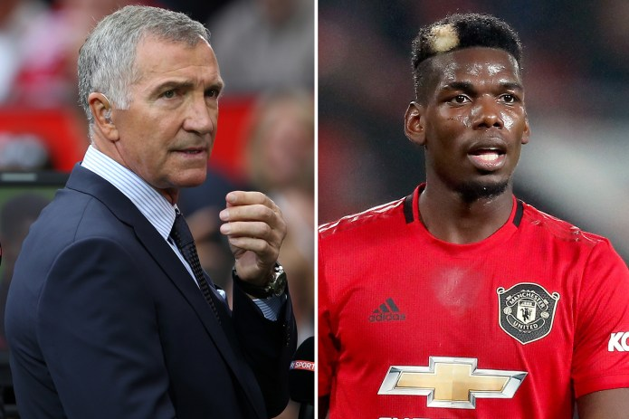 Graeme Souness (left) against Paul Pogba would be an exciting competition