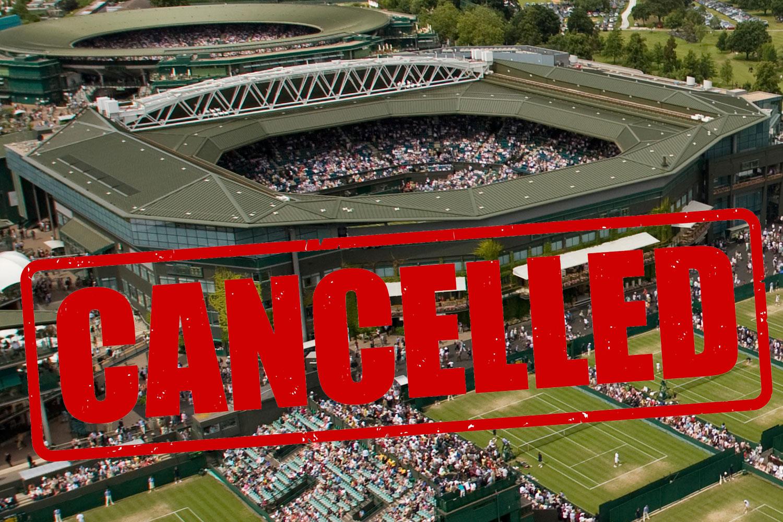 Wimbledon 2020 cancelado