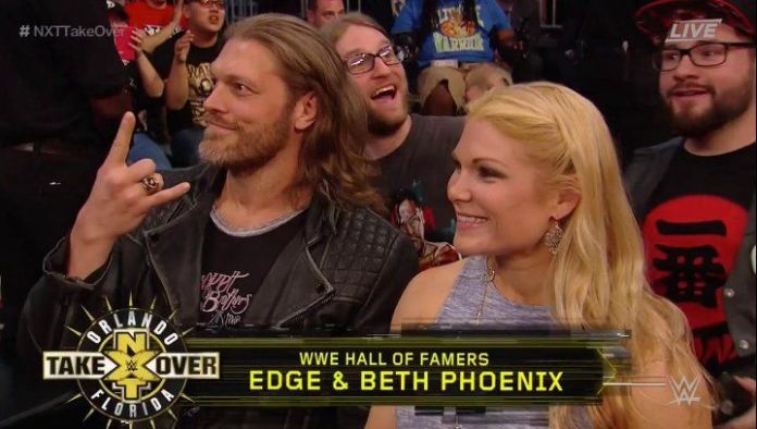 Hall of Famers Edge and Beth Pheonix recently returned to WWE