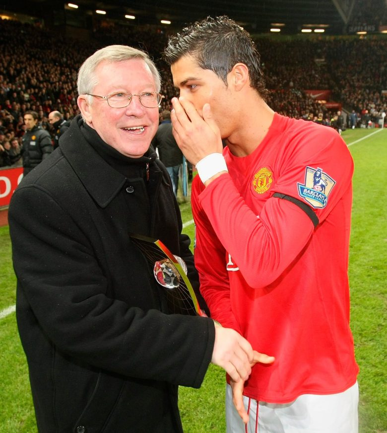 Ronaldo has referred to Fergie in the past as his football father