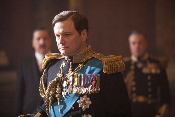 Colin Firth starred as King George VI in the blockbuster movie The King's Speech