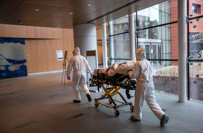 Death toll reported on Sunday was lowest since lockout started