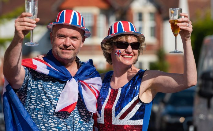 British people celebrated 75th anniversary of VE Day across the UK