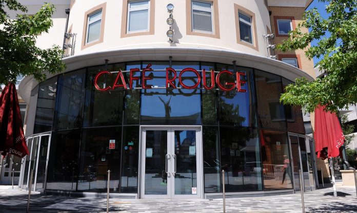 The restaurant chain Cafe Rouge is on the verge of collapse as the hotel sector is hammered by the locking of the virus
