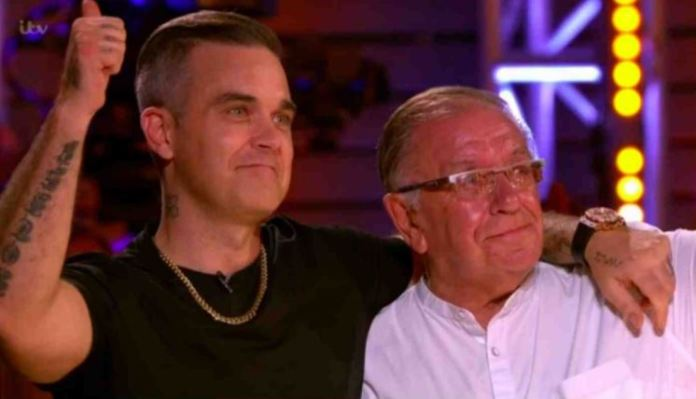 Robbie Williams revealed that her father, Pete, had Parkinson's disease.