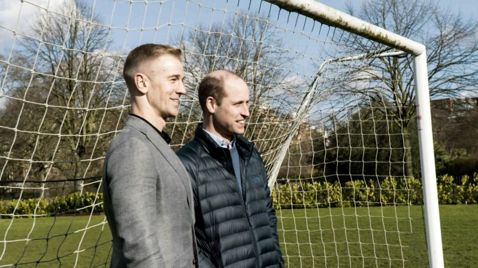 Wills also spoke with former English goalkeeper Joe Hart