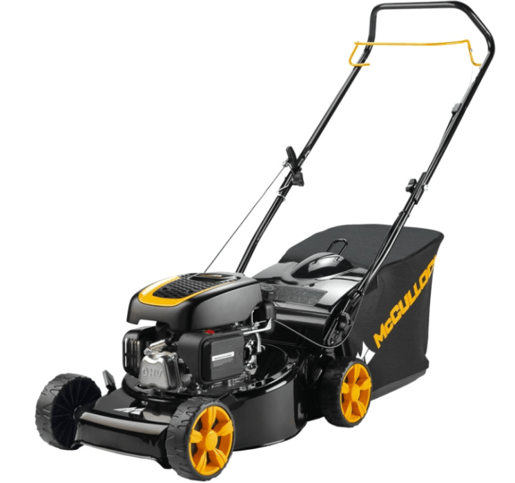 B&M has this McCulloch lawn mower for £169