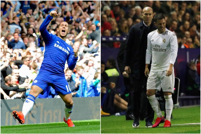 Eden Hazard would enjoy some of his best years after Ronaldo's praise