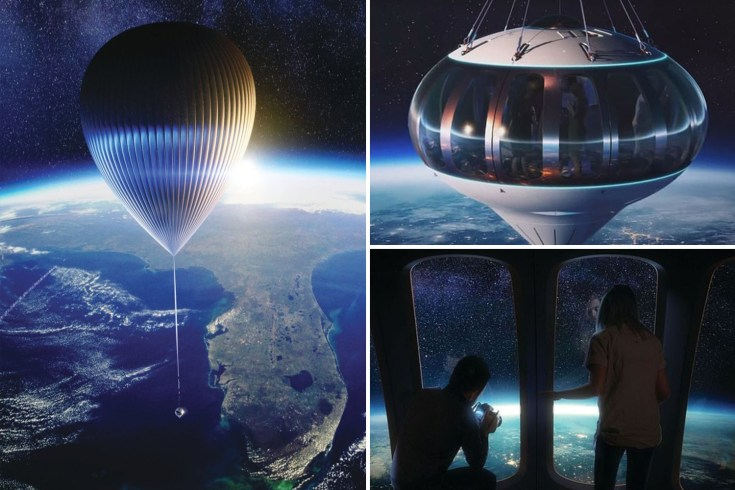 Space Perspective to send people into stratosphere on a giant balloon from 2024