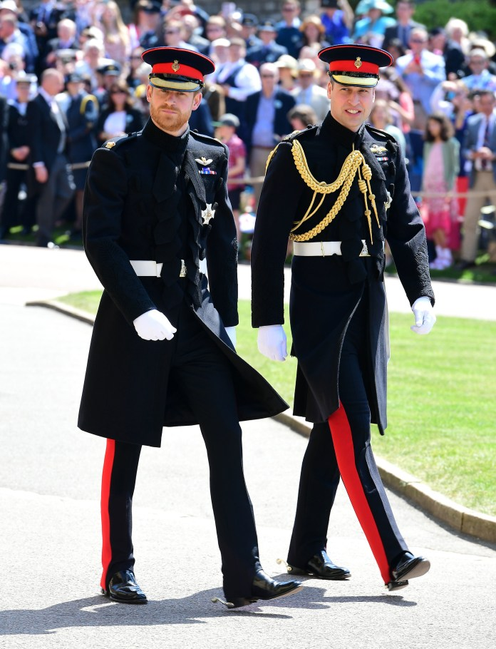 Prince William was the best man at Prince Harry at the wedding of
