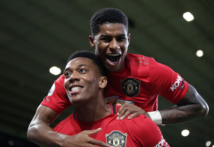 Anthony Martial and Marcus Rashford have been warned they must score more goals or risk competition for places
