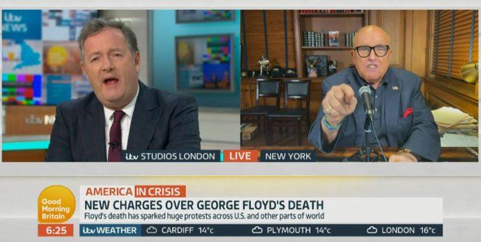 Piers Morgan interviews Trump's lawyer Rudy Giuliani