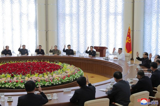 The central committee is the most senior body within the Workers' Party of Korea