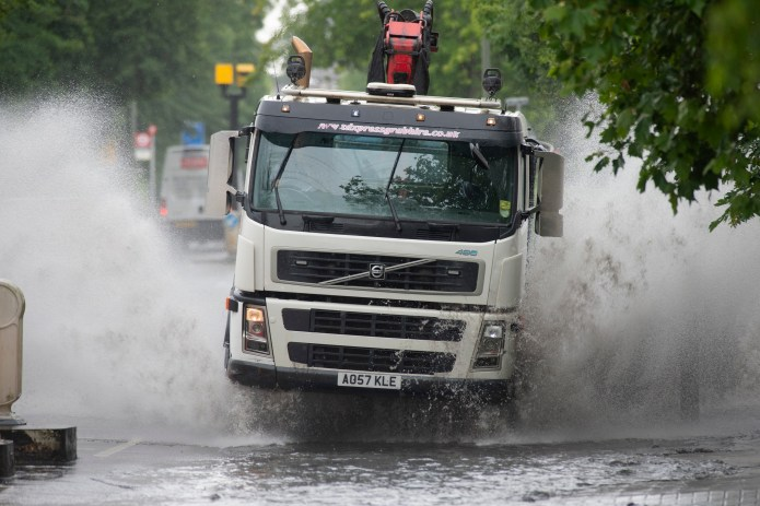 Floods wreak havoc on roads