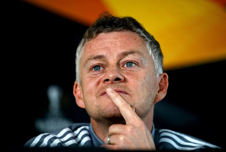 Solskjaer admits he is considering dipping into the transfer market for reinforcements