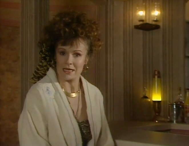 Julie Walters played Lesley in Her Big Chance