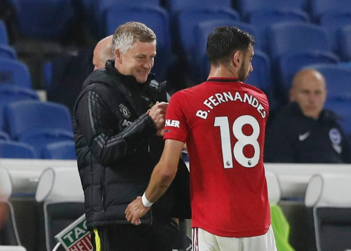 Ole Gunnar Solskjaer will be delighted with Bruno Fernandes' impact at the club