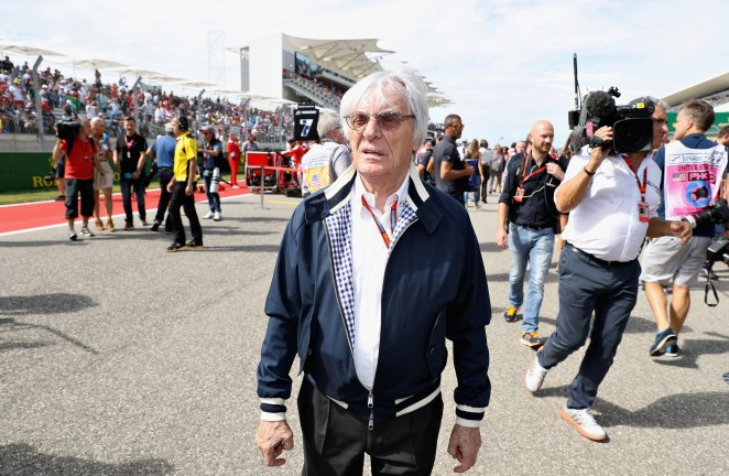 He is the former F1 boss