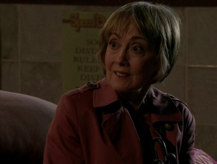 Tim's mom Elaine is back to help bring down Geoff