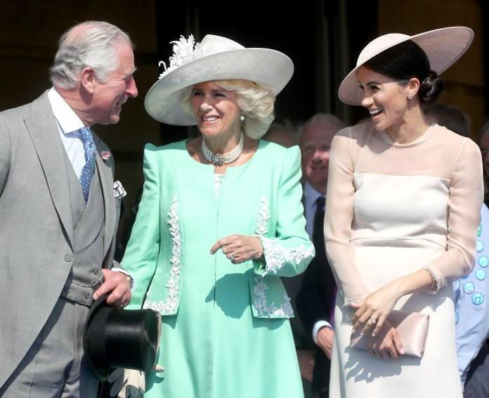 Charles and Meghan reportedly share a close bond