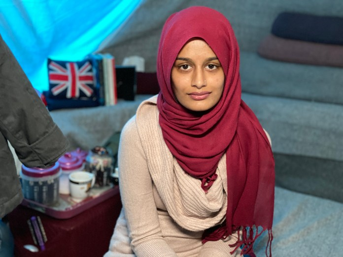 Begum was allowed to return to the UK