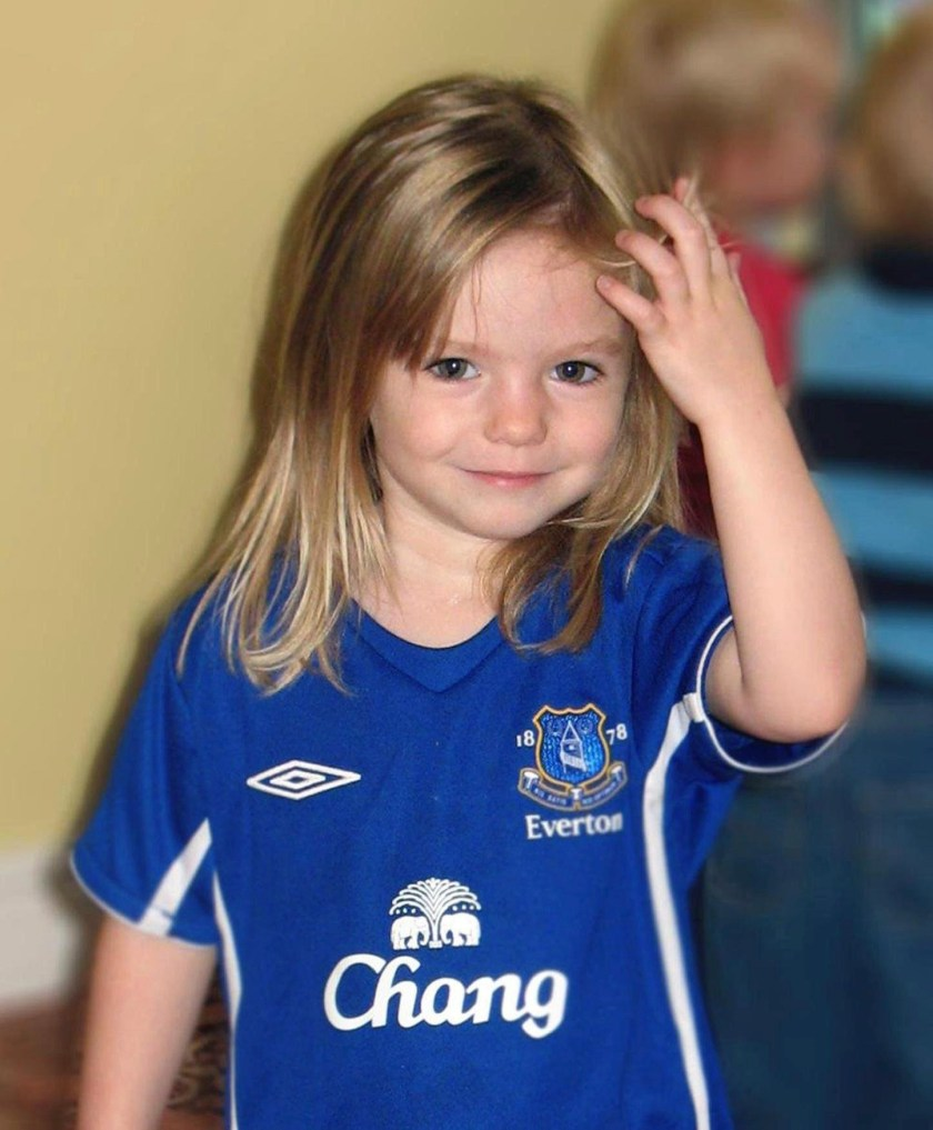 Madeleine McCann went missing in 2007 while on holiday with her family