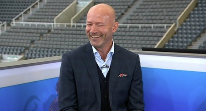 Game of the day, pandit Alan Shearer wore no badge on Sunday's show