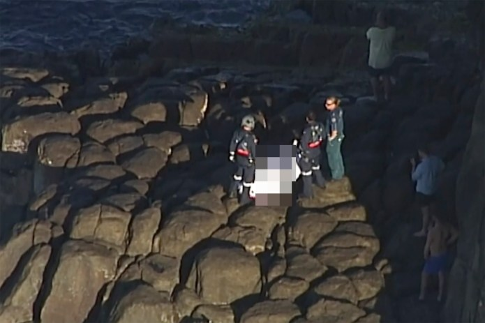 Paramedics attempted to rescue him, but was pronounced dead on the scene