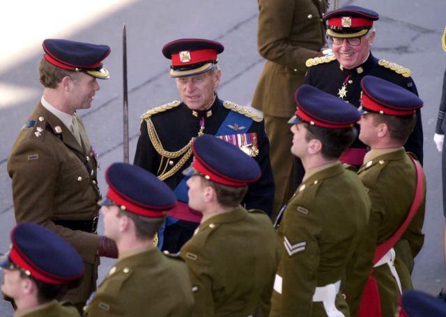 The duke has a long history of serving as a royal