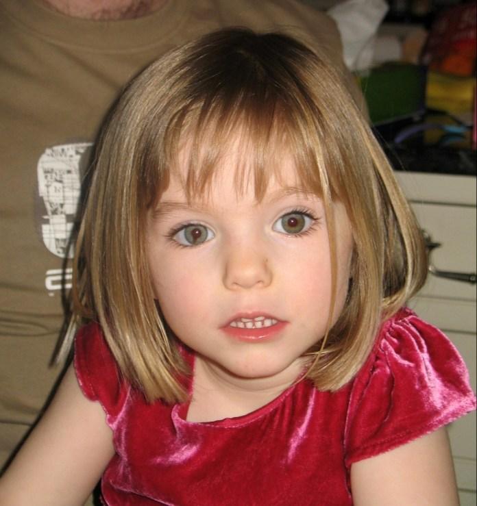 Madeleine McCann disappeared in 2007