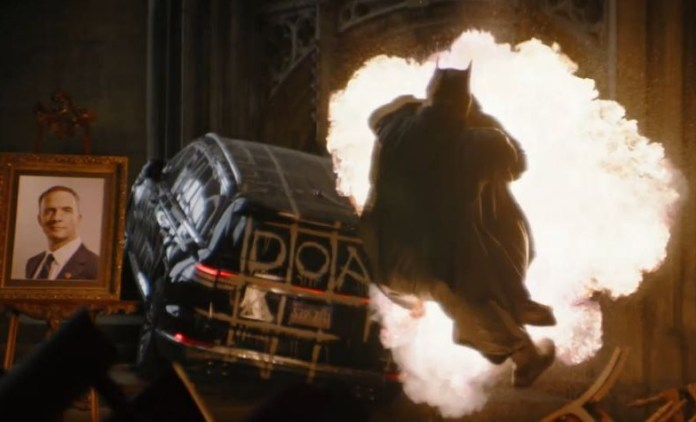 Explosive trailer for the Batman released online today