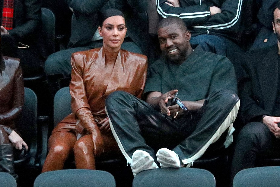 The hackers targeted the accounts of both Kanye West and Kim Kardashian