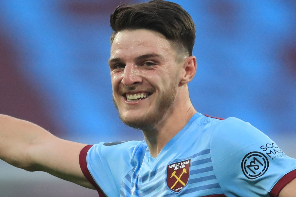 Chelsea bid £50million for 'No1 target' Declan Rice from West Ham