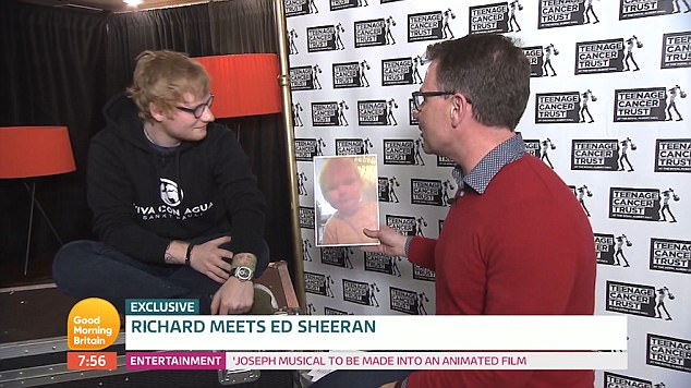 Ed made the comments about not touring in 2017