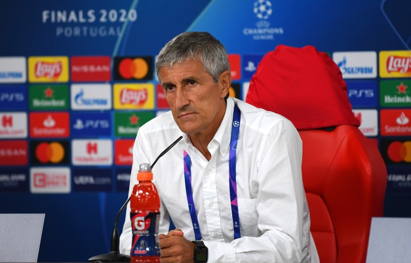 Quique Setien sounded like a man defeated and resigned to his fate when he spoke after the game