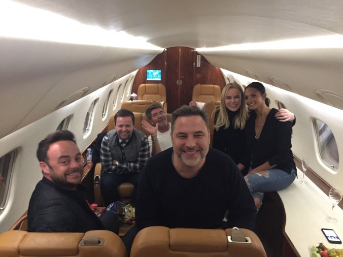 Ant, Dec, Simon, David Walliams, Amanda Holden and Alesha Dixon flew out for a BGT audition in 2017