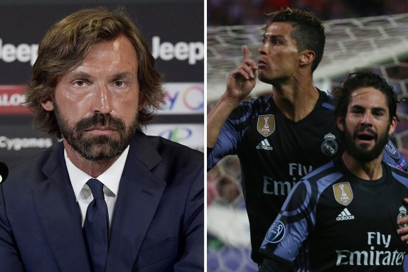 Pirlo plans to get best out of Cristiano Ronaldo at Juventus by ...