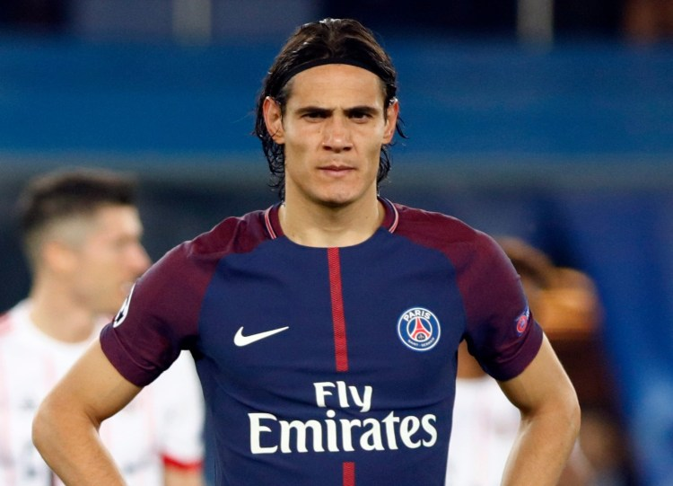 Atletico Madrid want to free up space to sign Edinson Cavani on a free kick