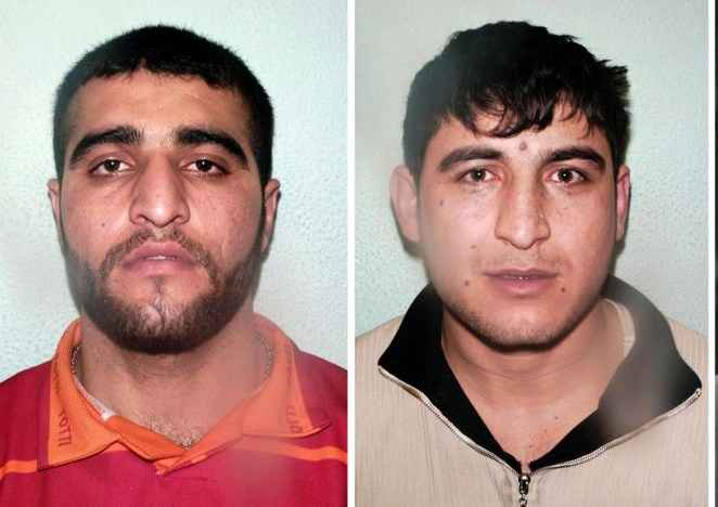 Banaz's cousins, Mohammed Saleh Ali, left, and Omar Hussain, right, were also implicated in the murder