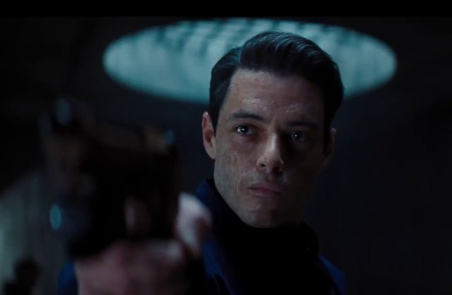 Rami Malek's villain Safin makes a chilling appearance in the trailer